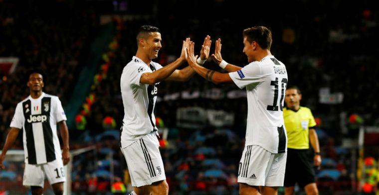 Oppermachtig Juventus wint bij United, Valencia en Young Boys delen punten