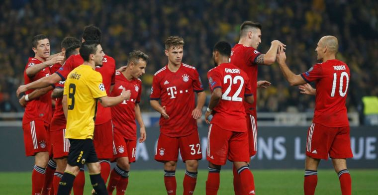 Bayern München heeft een uur nodig in Griekenland, maar zet Ajax op afstand