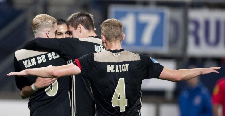 Otro crack del Ajax, seguido por los grandes a razón de 40 'kilos'