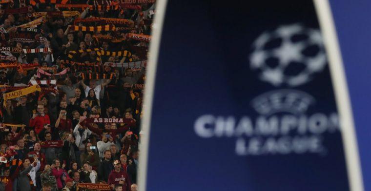 Heftige beelden: Russische voetbalfans gelanceerd door op hol geslagen roltrap
