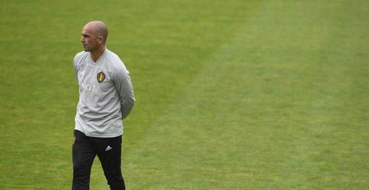 Bondscoach Martinez wil als een gek vertrekken naar Real Madrid
