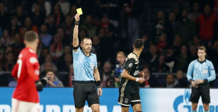 Franse arbiter maakt geen vrienden tijdens Ajax-Benfica: 'Verreweg de slechtste'