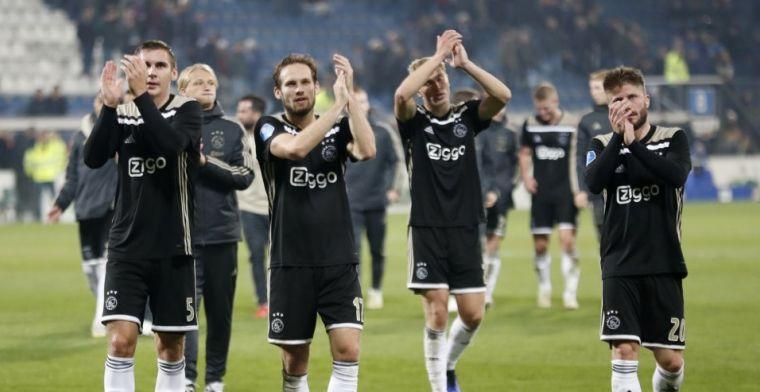 Oproep Blind aan Ajax-fans: Het is mooi dat we die connectie weer hebben