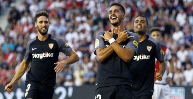 El Sevilla, el que más marca a domicilio en Europa