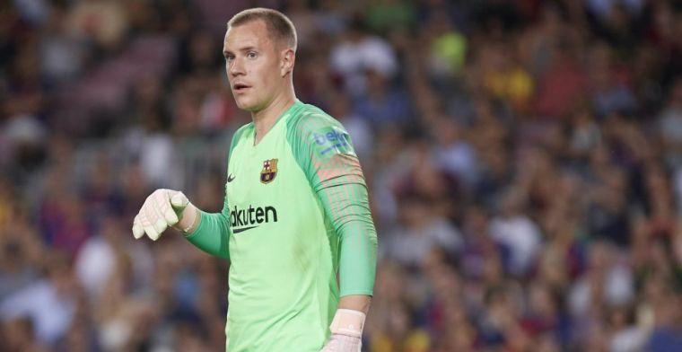 Ter Stegen dacht aan vertrek bij Barcelona: 'De strijd was niet eenvoudig'