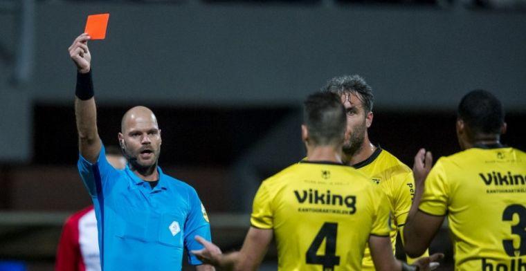 Emmen blijft steken op gelijkspel tegen tien man van Eredivisie-verrassing