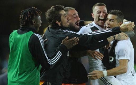 Afbeelding: Juventus behoudt ongeslagen status: Ronaldo de uitblinker tegen laagvlieger