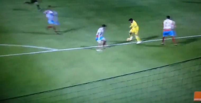 VÍDEO | El gol digno de Leo Messi visto en Segunda División