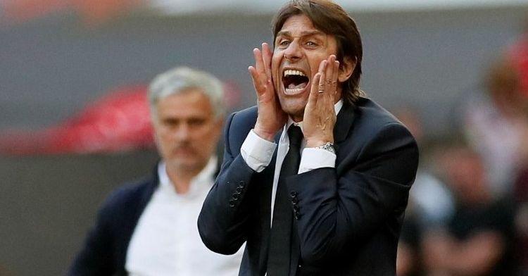 Un ayudante de Antonio Conte estuvo presente en el palco del Camp Nou durante el Clásico