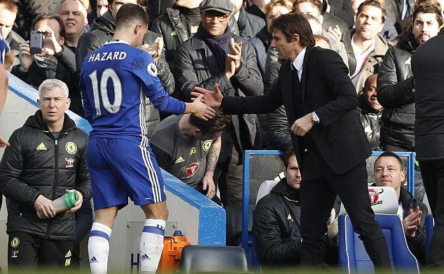 La firma de Conte aleja el fichaje de Hazard por el Real Madrid