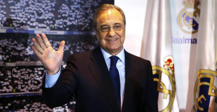 Florentino anunció al nuevo entrenador en la comida de directivas
