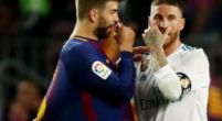 Imagen: Piqué pidió que no se insultara a Sergio Ramos
