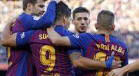 Imagen: Así reaccionaron los jugadores del Barça tras la histórica goleada