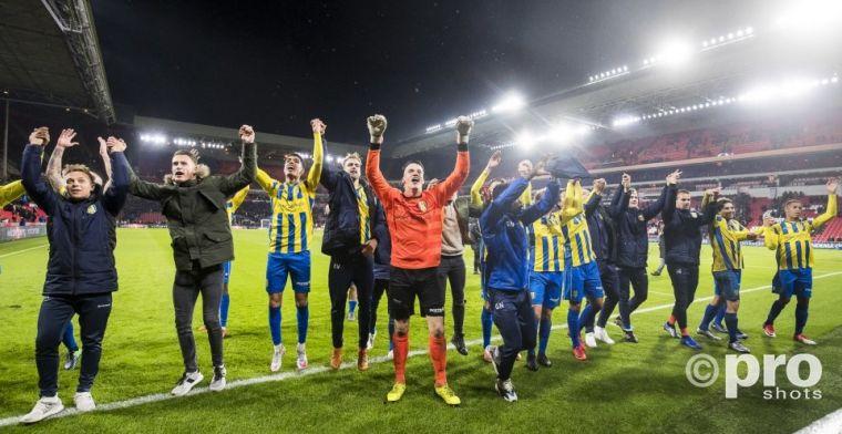 RKC-coach Grim: 'Het is een keuze, maar wij hebben gok PSV afgestraft'