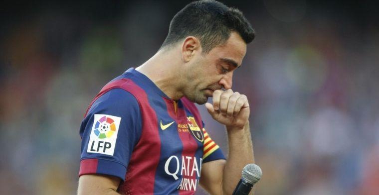 Xavi Hernández decide colgar las botas el próximo abril