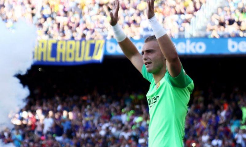 Afbeelding: Cillessen vertolkt glansrol bij late overwinning Barcelona in Copa del Rey