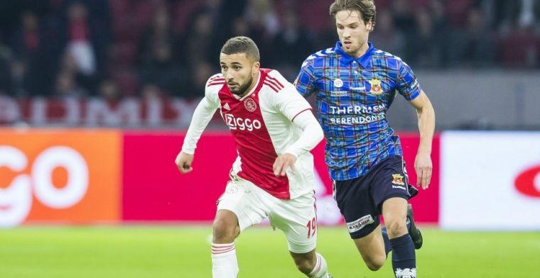 Scorende Labyad niet tevreden bij Ajax: 'Ik had het absoluut niet verwacht'