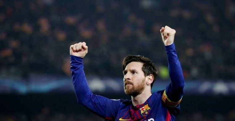 Xavi: A veces pienso que Messi podrá jugar hasta los 38 años