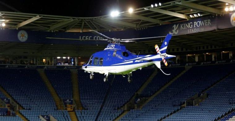 Nuevas imágenes del accidente del propietario del Leicester, desde el campo
