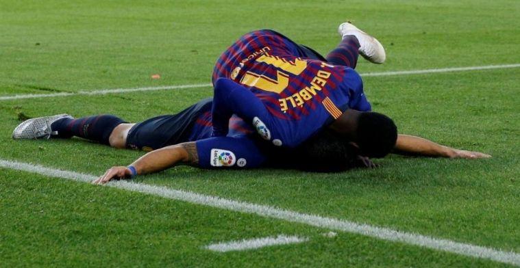 El Barça lo tiene claro: no venderá a Dembélé