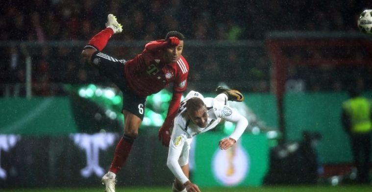 Thiago se lesiona y sale en muletas del estadio