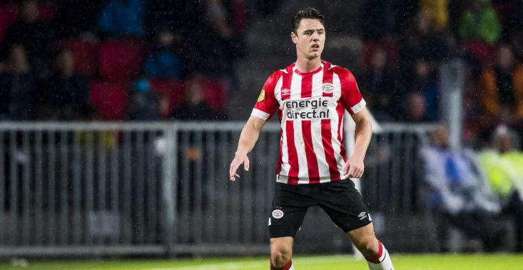 PSV-debutant beleeft rotavond in Eindhoven: 'Moeten ons schamen, gelijk heeft-ie'
