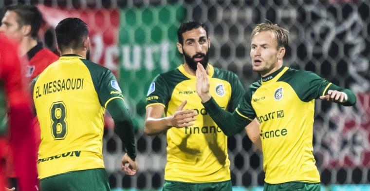 Fortuna Sittard knokt zich twee keer terug en schakelt NEC uit