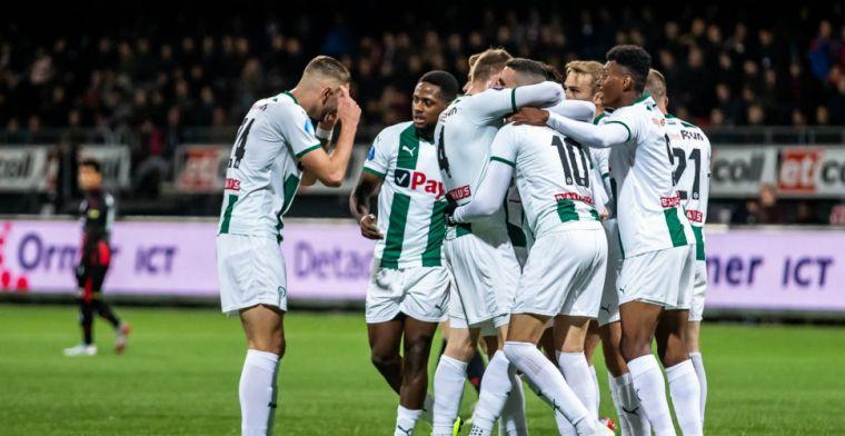 FC Groningen boekt cruciale zege in spectaculair treffen: primeur voor spitsenduo