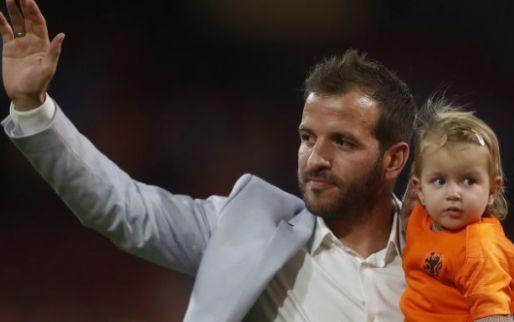 Afbeelding: Van der Vaart (35) beëindigt carrière: