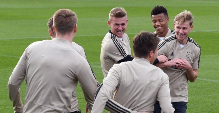 Jansen: Dan is de vraag of Ajax meewerkt. Ik denk dat ze moeten