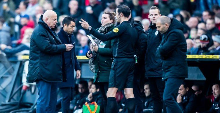 Slecht nieuws uit De Kuip: Feyenoord - VVV definitief gestaakt