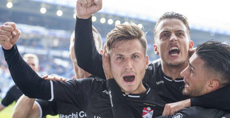 Wéér geen thuiszege Heerenveen na blunder Scherpen en late goal van slordig Emmen