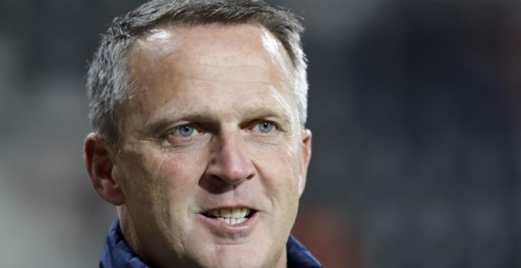 Van den Brom: 'Hij is daar fysiek nog steeds niet toe in staat'