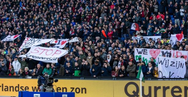 Complottheorie van Schelvis: Precies op dat moment in het stadion van Feyenoord