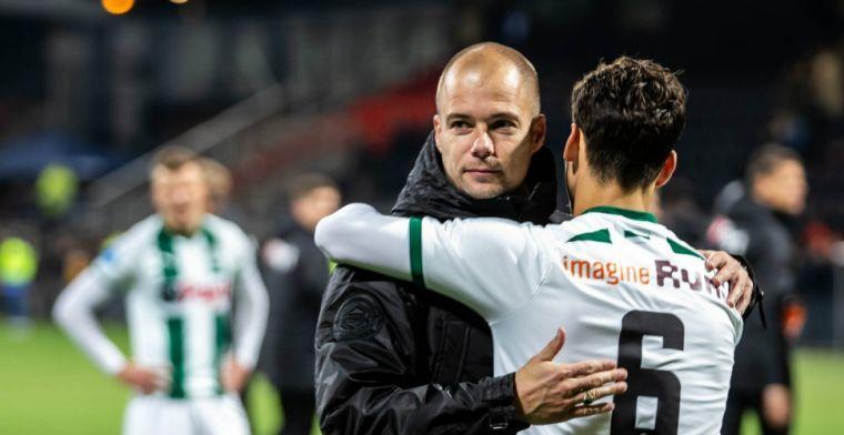 'Durfde niet meer op teletekst te kijken, Groningen viel bijna van de ranglijst'