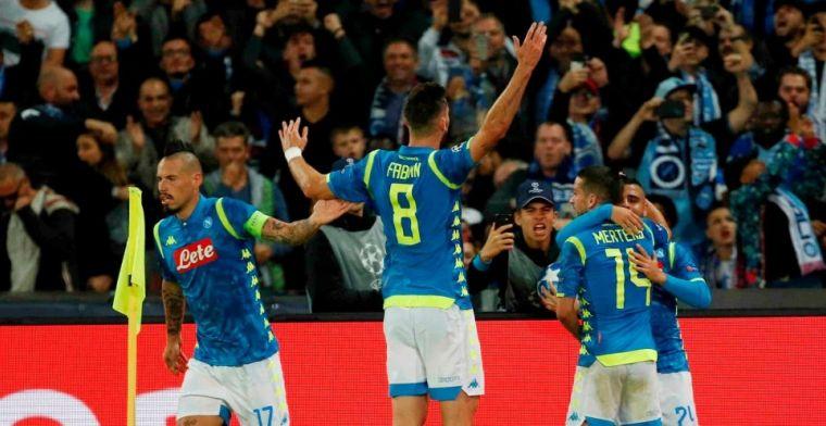 Groep C: bloedstollende ontknoping dreigt na remise PSG bij Napoli