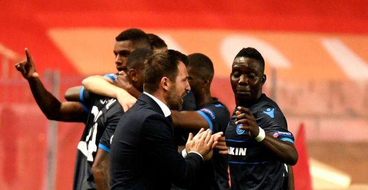 Club Brugge laat geen spaander heel van Monaco: Knijp is in mijn arm