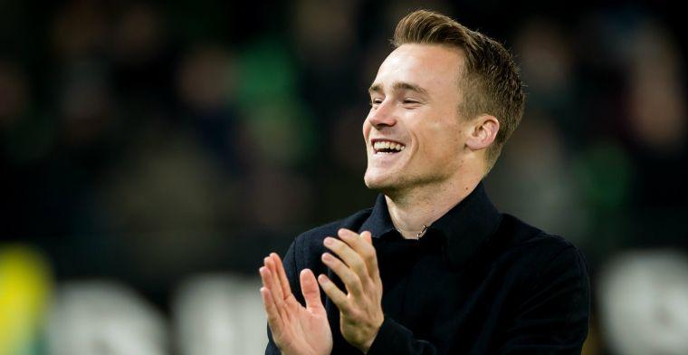 Happy in Engeland: Een club als Feyenoord zou ik zeker aandurven