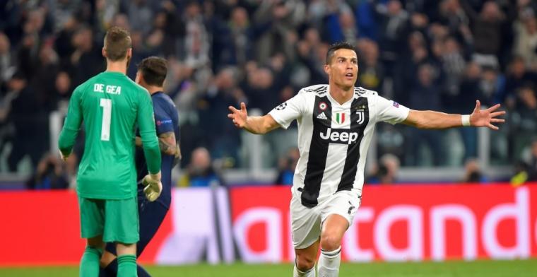 Groep H: Man United draait wedstrijd in slotfase om ondanks wereldgoal Ronaldo