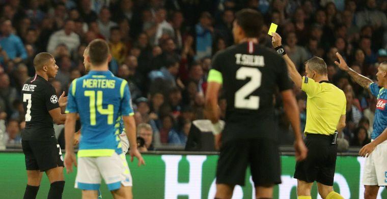 Gefrustreerd PSG pakt ref hard aan: 'Het is altijd hetzelfde met deze scheids'