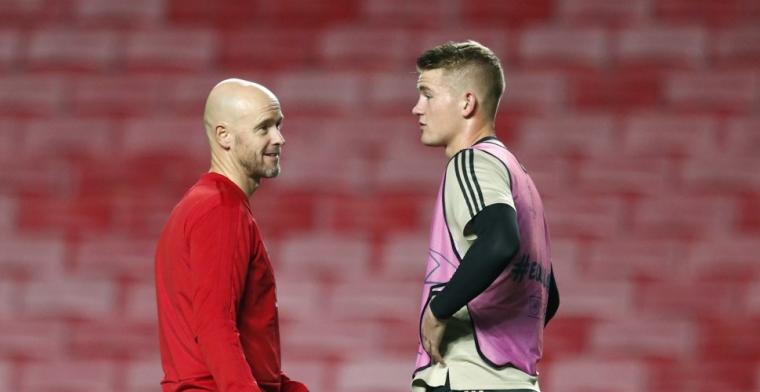Vertonghen: 'Kan me voorstellen dat hij met zo'n goede groep bij Ajax wil blijven'