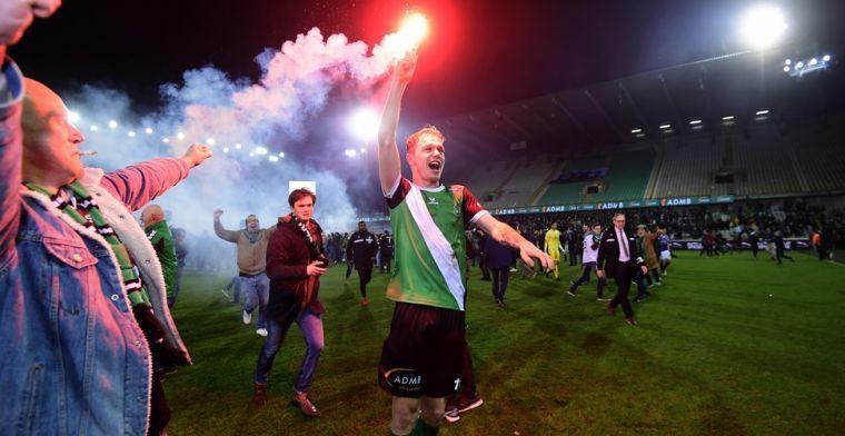 Fans van Cercle Brugge hebben het vlaggen, in totaal 30 jaar stadionverbod