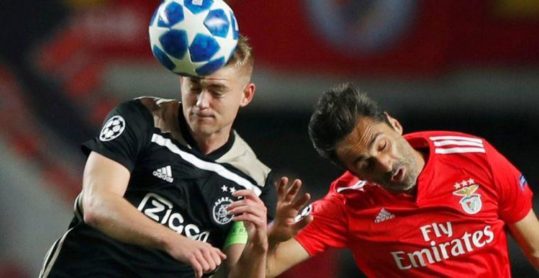 De Ligt maakt compliment aan Ajax-maatje: Hij verdient alleen maar lof
