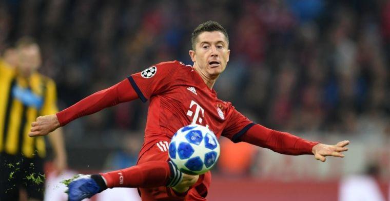 Groep E: Bayern wint dankzij klasse Lewandowski en is zo goed als door