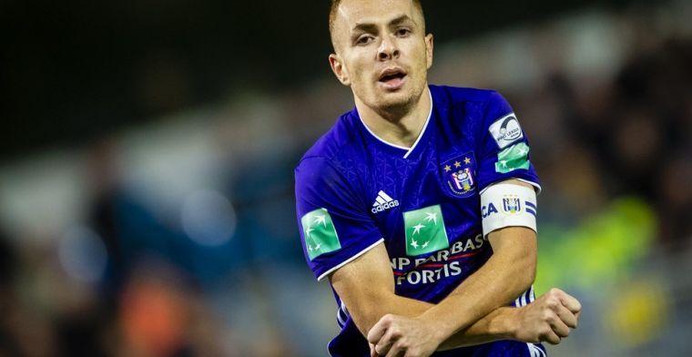 Anderlecht verwacht afwezigheid van Trebel, kapitein duidt eigen opvolgers aan