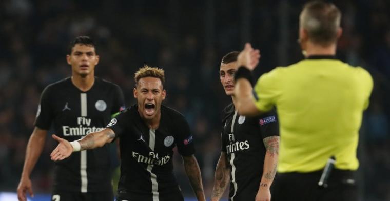 Neymar hekelt 'respectloze' Kuipers: 'Hij zei iets wat hij niet had mogen zeggen'