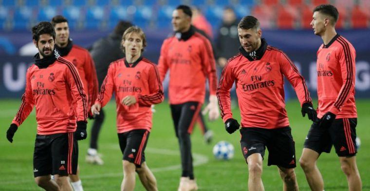 Ramos schuldbewust na elleboogstoot: 'Ik had niet zo mogen inkomen'
