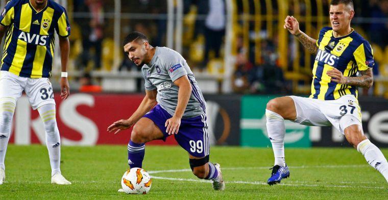 Anderlecht verpest laatste kans en gaat ten onder tegen Fenerbahçe