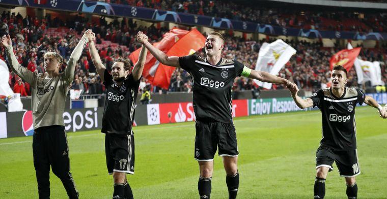 Ajax 'bij vlagen onsamenhangend en beschamend': 'De opluchting overheerst'