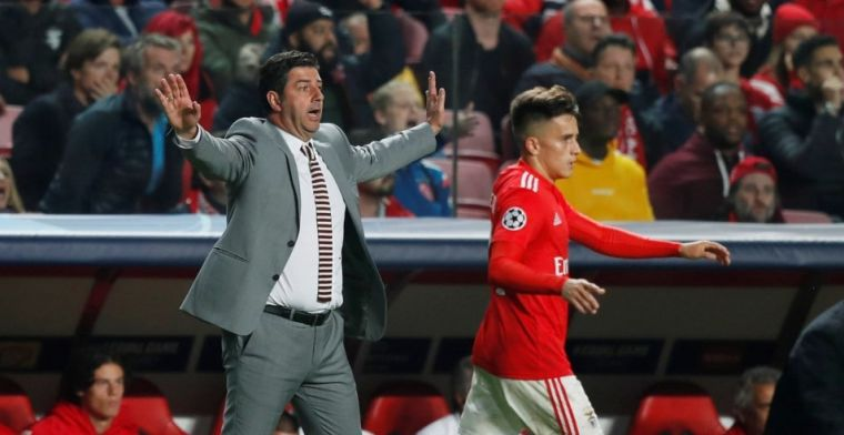 Benfica-trainer baalt: 'Ajax had geluk, wij hadden de overwinning verdiend'
